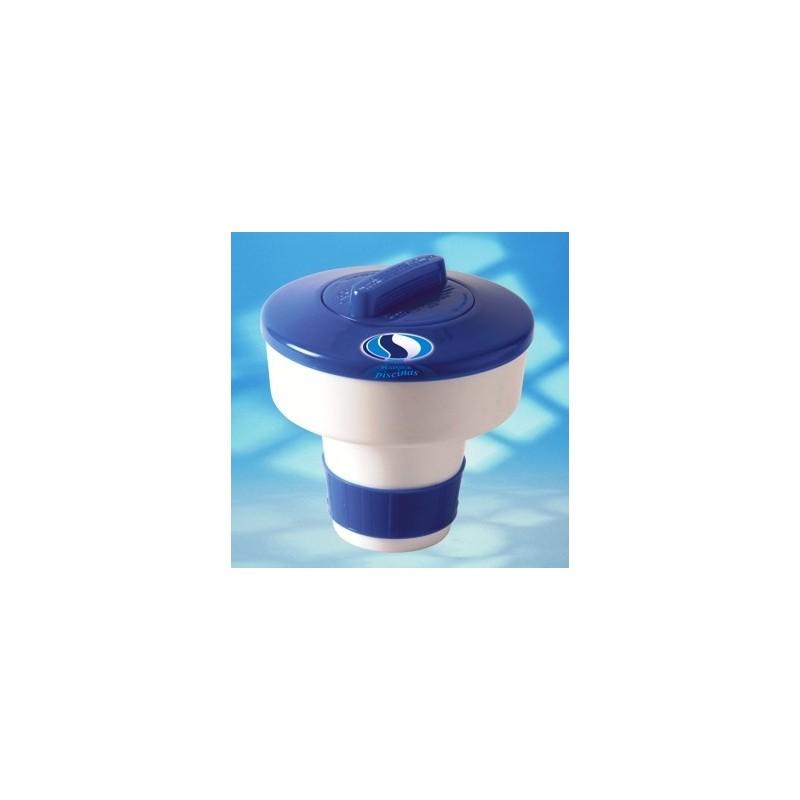 Clorador flotante berkiclean for Cloro para piscinas