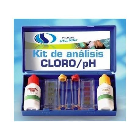 Test kit para ph y cloro berkiclean for Cloro piscina