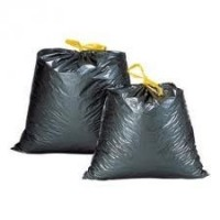 Domestic Garbage Bag with self-closing